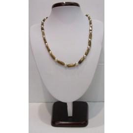 Náhrdelník,náramok,náušnice,čiernomodré riečne perly