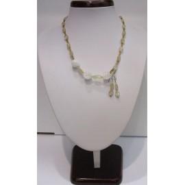 Avanturín pieskový - náhrdelník, náušnice