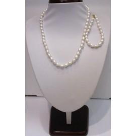 náhrdelník,náramok riečna perla