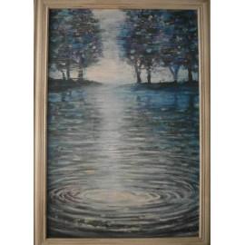 Obraz - V jazere snov - Mgr. Art. Kamil Jurašek