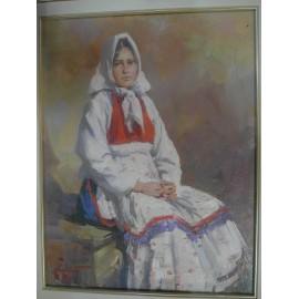 Obraz - Olejomaľba - Rusnáčka - akad. mal. Timour Karimov