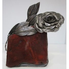Helena Ferleťáková -kovaná dekorácia- ruža