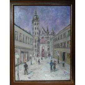 Obraz - Akryl na sololite - Košice - Ester Ksenzsighová