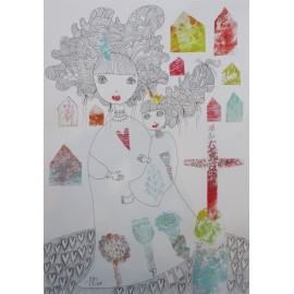 Obraz - Láska- Mgr. Marcela Vilhanová