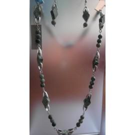 Africký tyrkys - náhrdelník a náušnice
